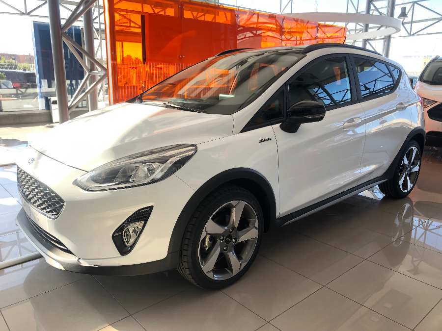 FORD Fiesta Blanco Gasolina Manual Berlina 5 puertas 2019