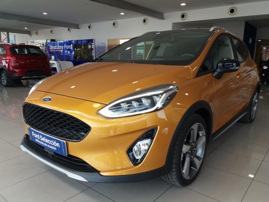 FORD Fiesta Naranja Gasolina Manual Berlina 5 puertas 2018