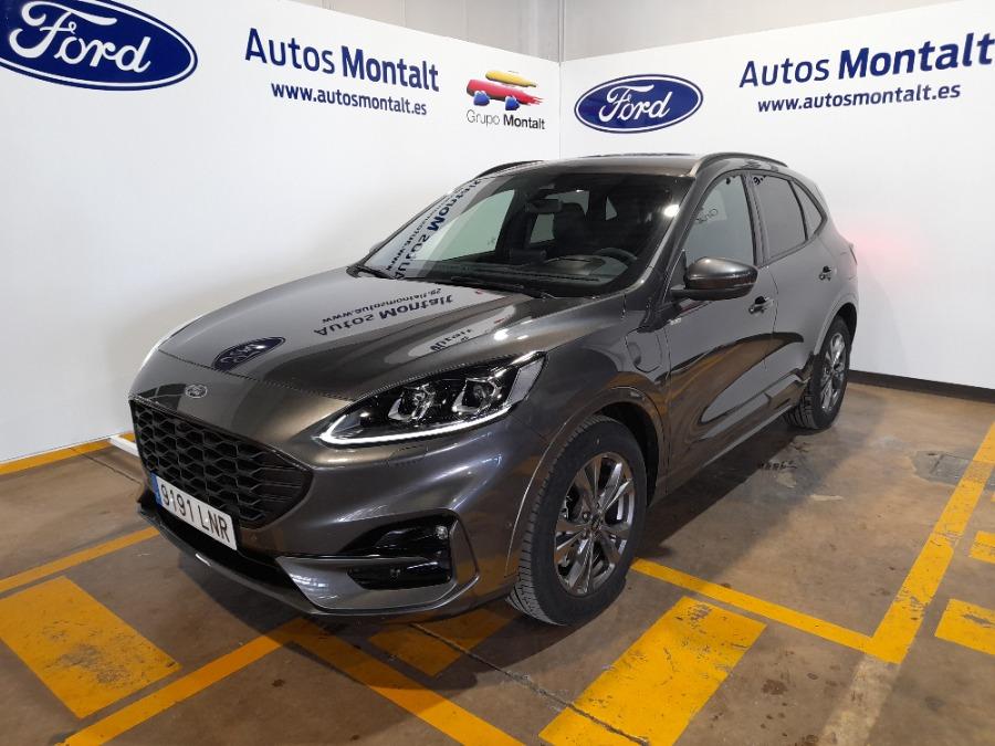 FORD Kuga Gris / Plata Eléctrico / Híbrido Automático 4x4 SUV 5 puertas 2021