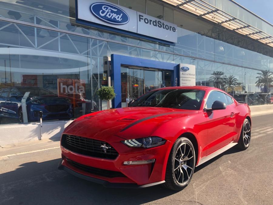 FORD Mustang Rojo Gasolina Manual Coupe 2 puertas 2020