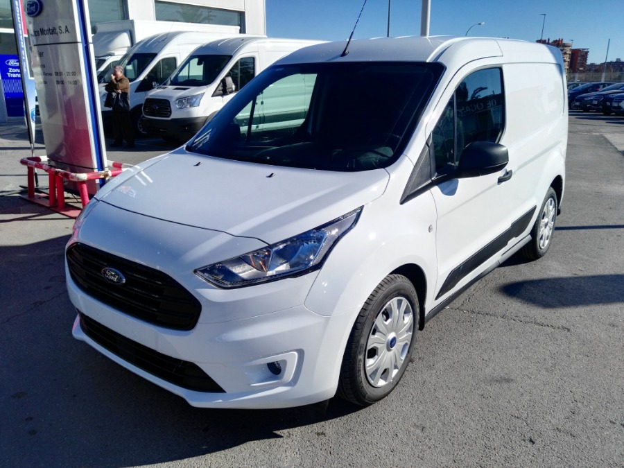 FORD Transit Connect Blanco Gasolina Manual Industriales 4 puertas 2018