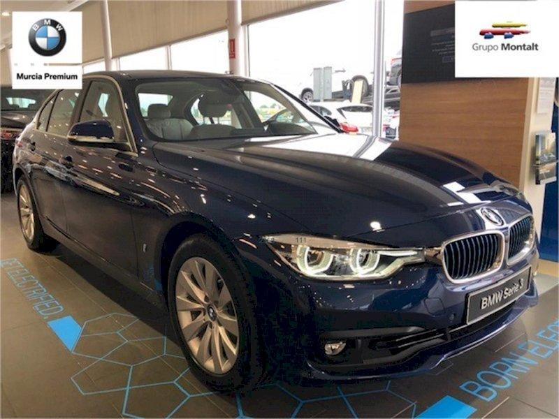 BMW Serie 3 Azul Eléctrico / Híbrido Automático Berlina 4 puertas 2018