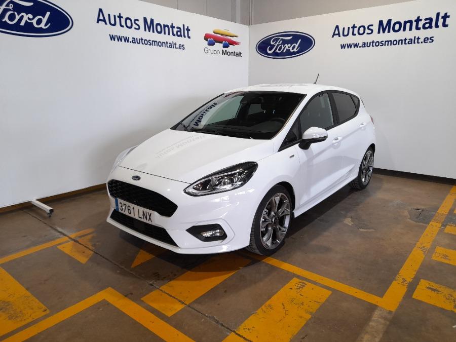 FORD Fiesta Blanco Eléctrico / Híbrido Manual Berlina 5 puertas 2021