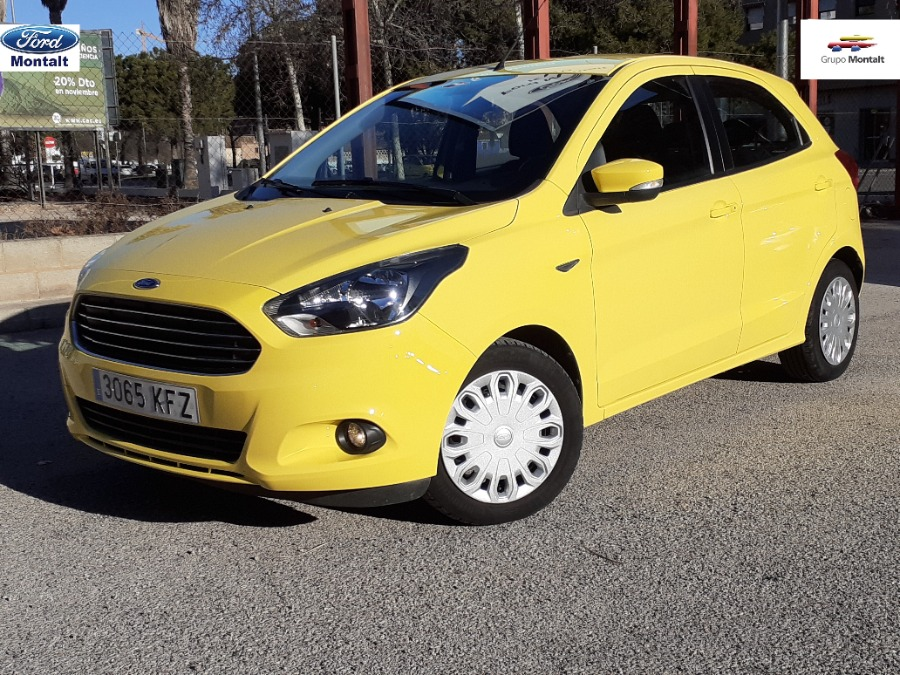 FORD Ka+ Amarillo Gasolina Manual Berlina 5 puertas 2017