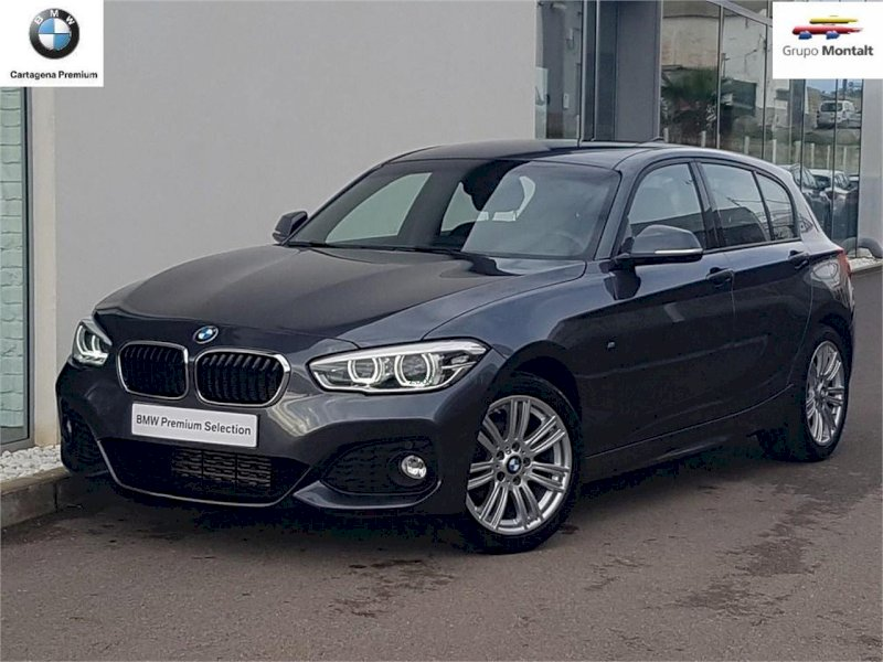 BMW Serie 1 Gris / Plata Diesel Automático Berlina 5 puertas 2015