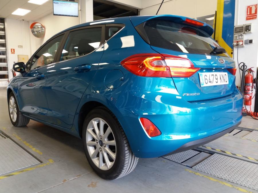 FORD Fiesta Azul Diesel Manual Berlina 5 puertas 2018