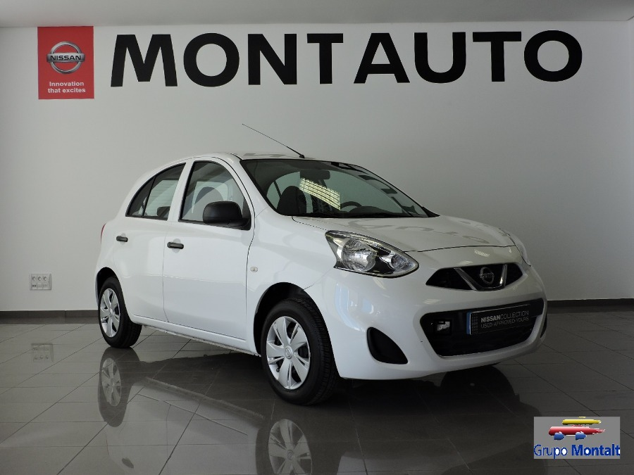 NISSAN Micra Blanco Gasolina Manual Berlina 5 puertas 2015