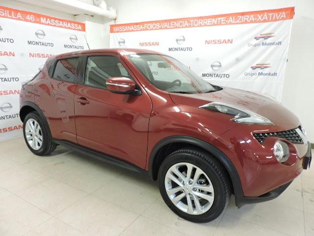 NISSAN JUKE Rojo Gasolina Manual 4x4 SUV 5 puertas 2016