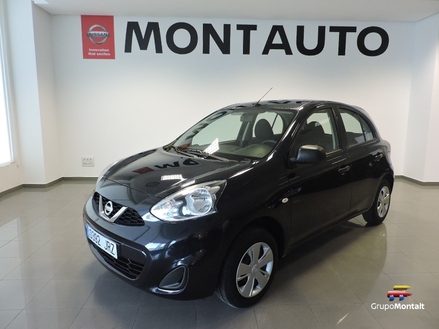 NISSAN Micra Negro Gasolina Manual Berlina 5 puertas 2016