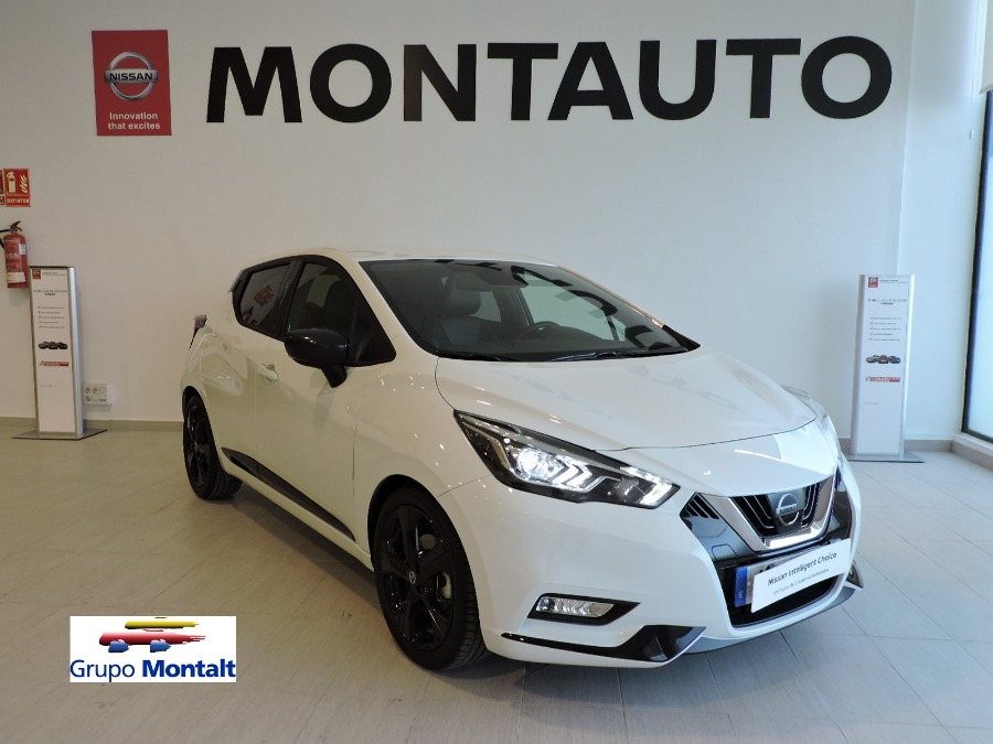 NISSAN Micra Blanco Gasolina Manual Berlina 5 puertas 2019