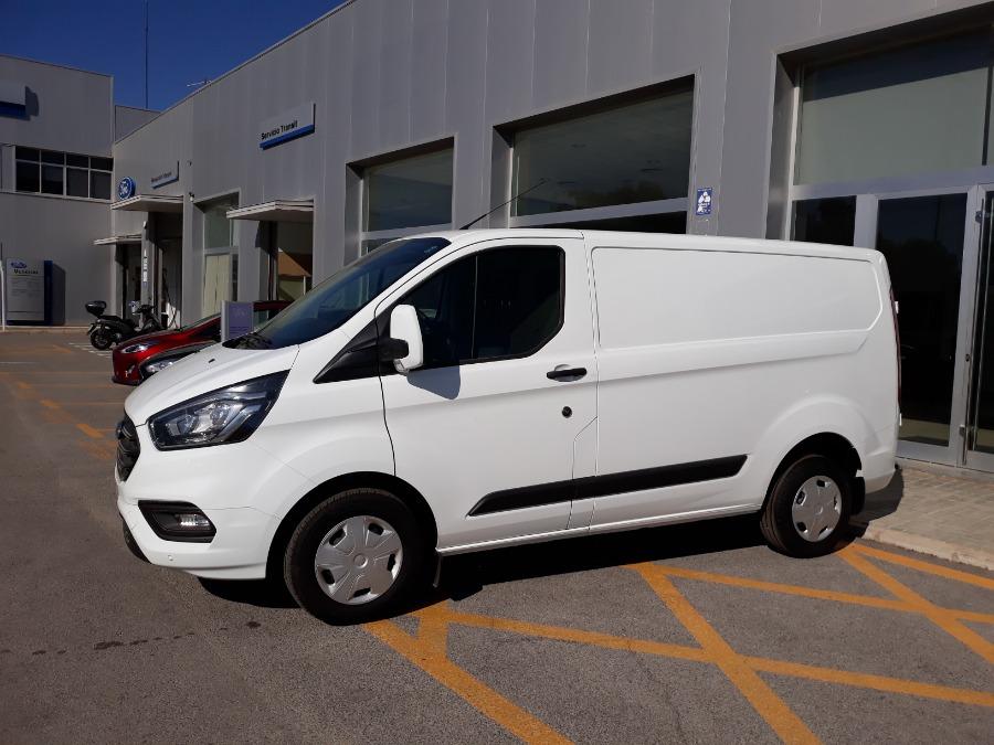 FORD Transit Custom Blanco Diesel Manual Industriales 4 puertas 2019