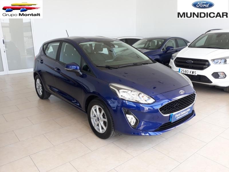 FORD Fiesta Azul Gasolina Manual Berlina 5 puertas 2018