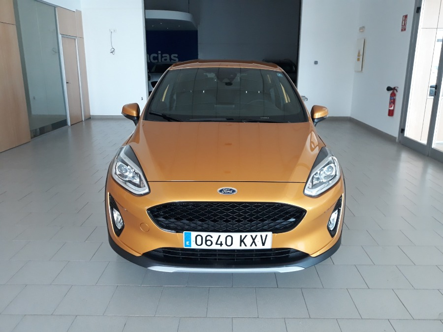 FORD Fiesta Naranja Gasolina Manual Berlina 5 puertas 2019