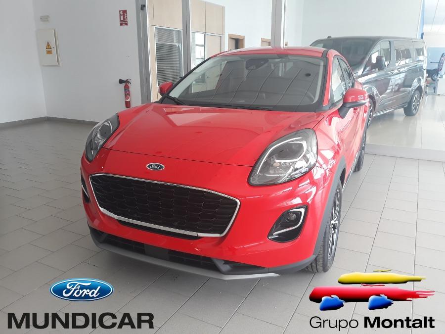 FORD Puma Rojo Gasolina Manual 4x4 SUV 5 puertas 2020