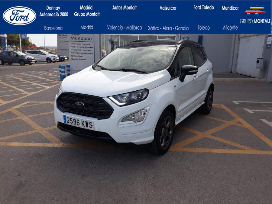 FORD EcoSport Blanco Gasolina Manual 4x4 SUV 5 puertas 2019
