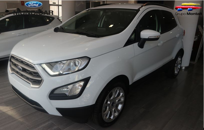 FORD EcoSport Blanco Gasolina Manual 4x4 SUV 5 puertas 2019