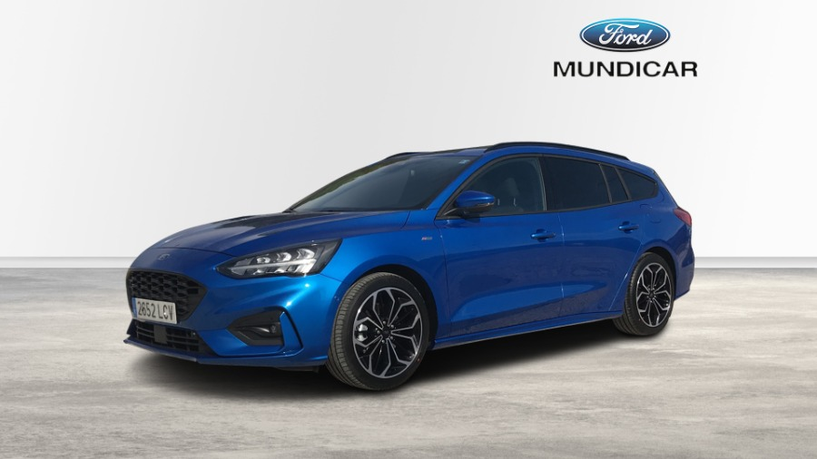 FORD Focus Azul Gasolina Automático Berlina 5 puertas 2019