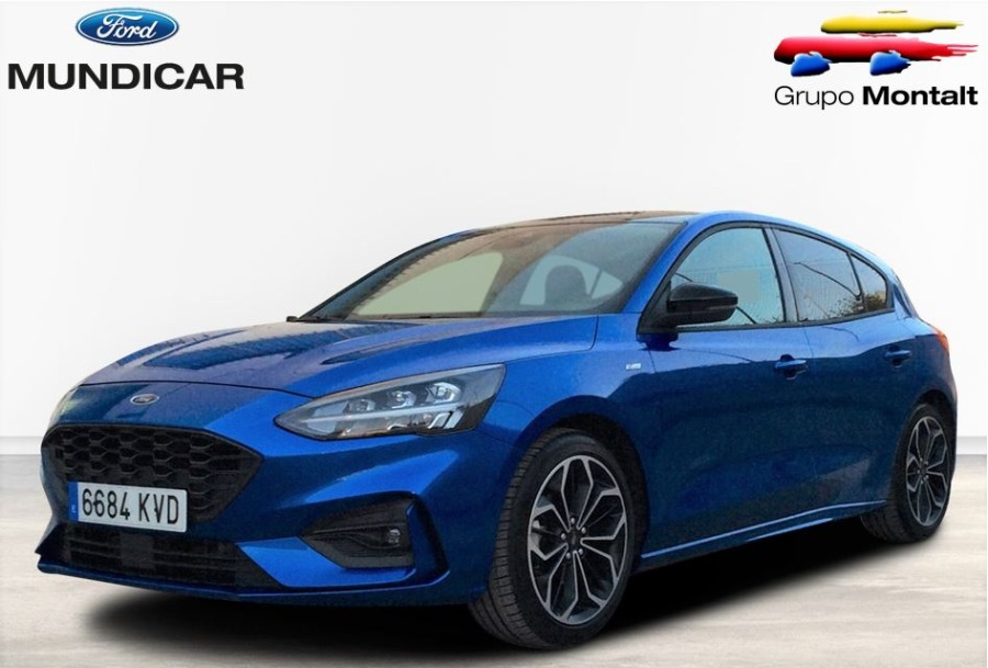 FORD Focus Azul Gasolina Manual Berlina 5 puertas 2019