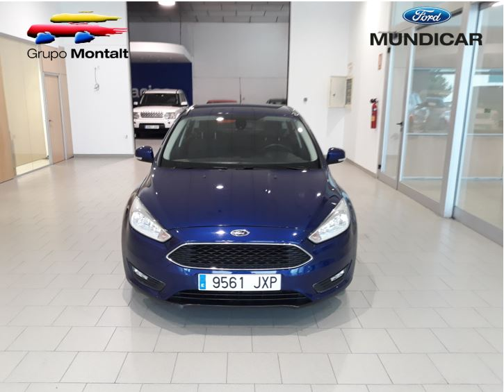 FORD Focus Azul Gasolina Manual Berlina 5 puertas 2017
