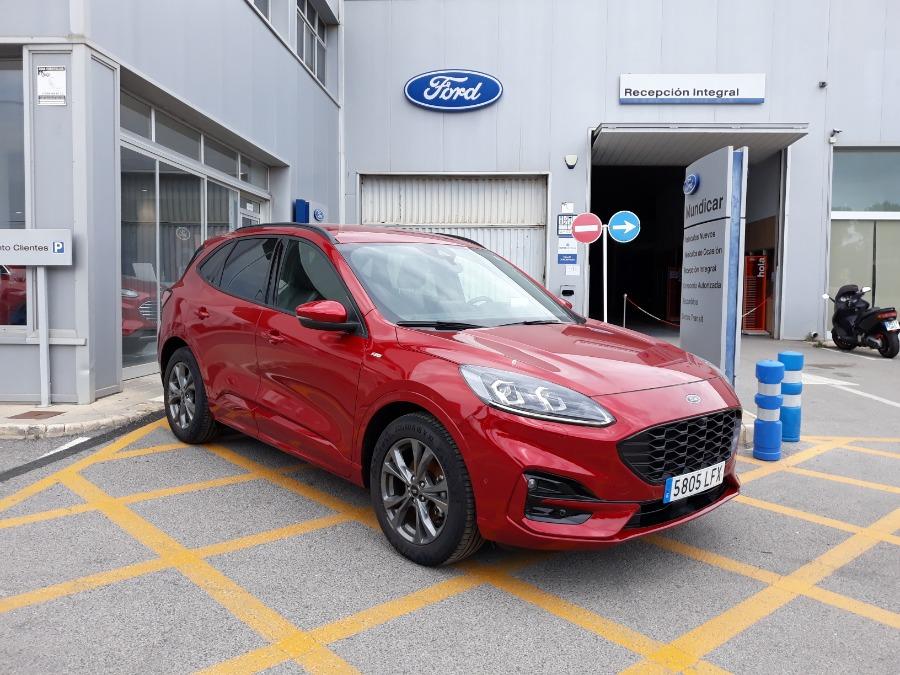 FORD Kuga Rojo Eléctrico / Híbrido Manual 4x4 SUV 5 puertas 2020