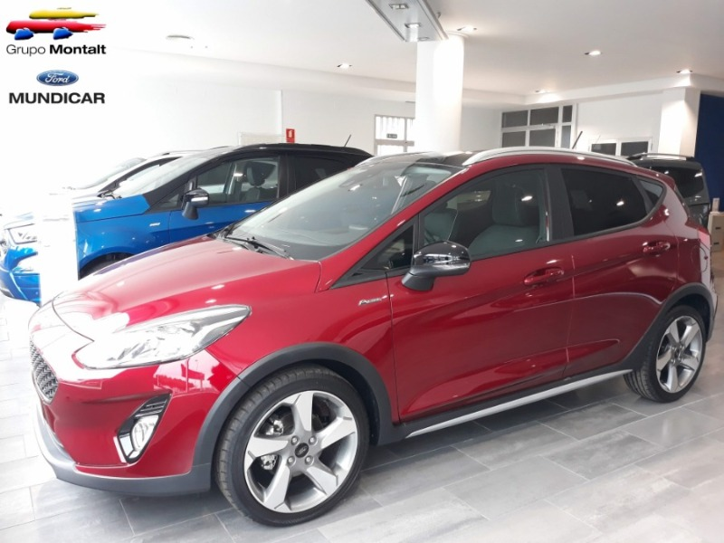 FORD Fiesta Granate Gasolina Manual Berlina 5 puertas 2019
