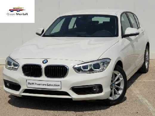 BMW Serie 1 Blanco Diesel Manual Berlina 5 puertas 2017