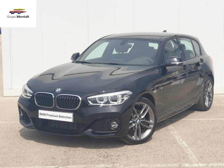 BMW Serie 1 Negro Gasolina Automático Berlina 5 puertas 2018
