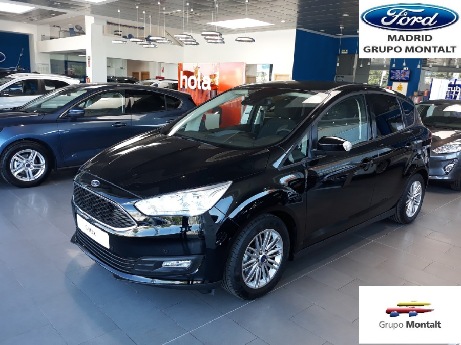 FORD C-Max Negro Gasolina Manual Monovolúmen 5 puertas 2018