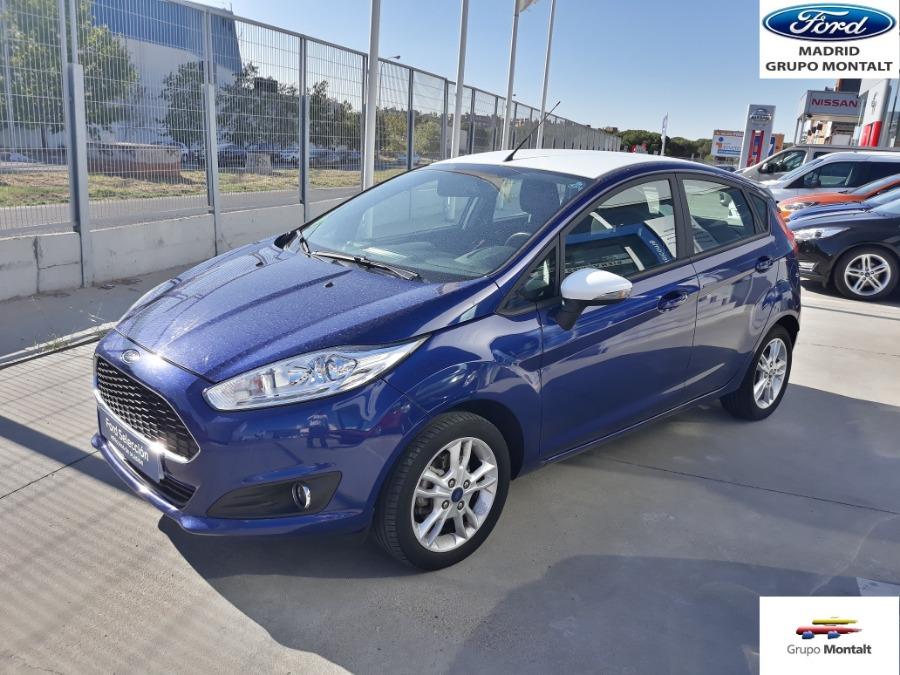 FORD Fiesta Azul Gasolina Manual Berlina 5 puertas 2017