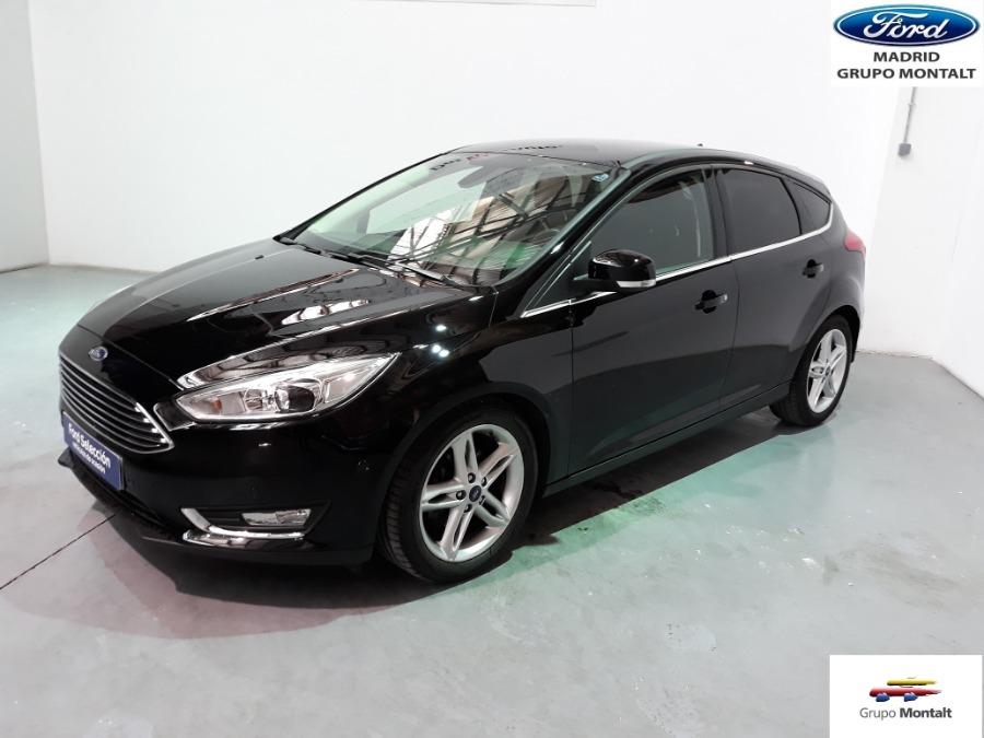FORD Focus Negro Gasolina Automático Berlina 5 puertas 2016
