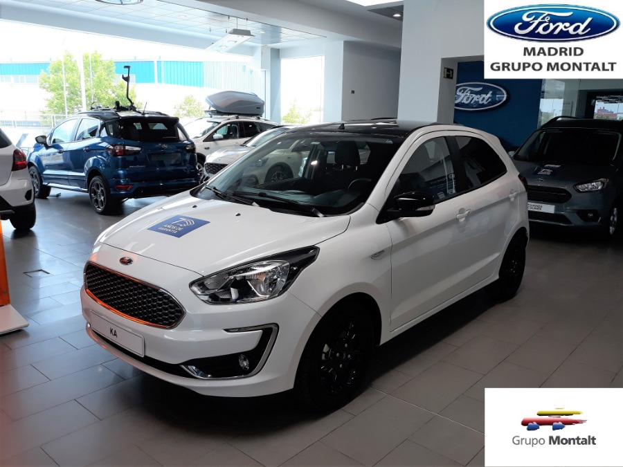 FORD Ka+ Blanco Gasolina Manual Berlina 5 puertas 2019