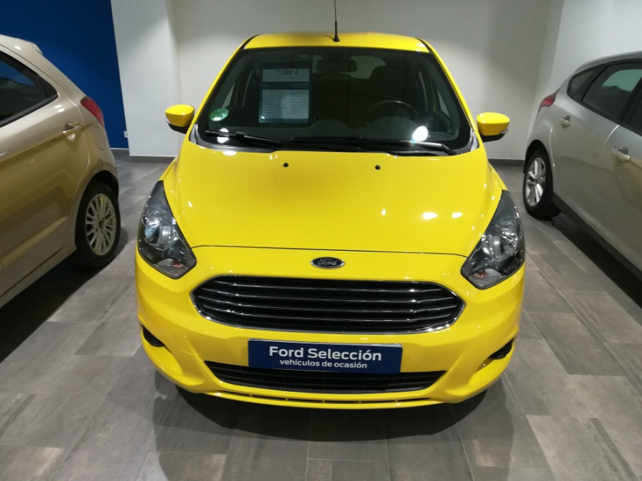 FORD Ka+ Amarillo Gasolina Manual Berlina 5 puertas 2016