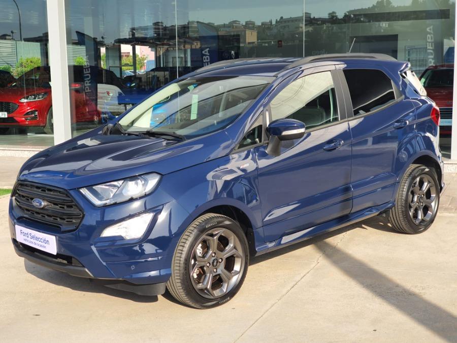 FORD EcoSport Azul Gasolina Manual 4x4 SUV 5 puertas 2020