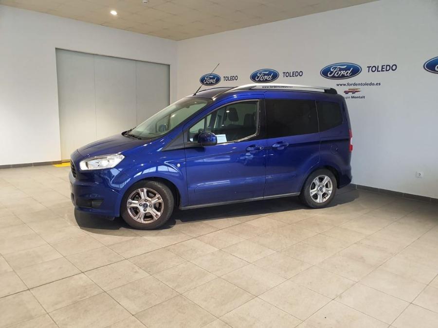 FORD Tourneo Courier Azul Diesel Manual Monovolúmen 5 puertas 2017