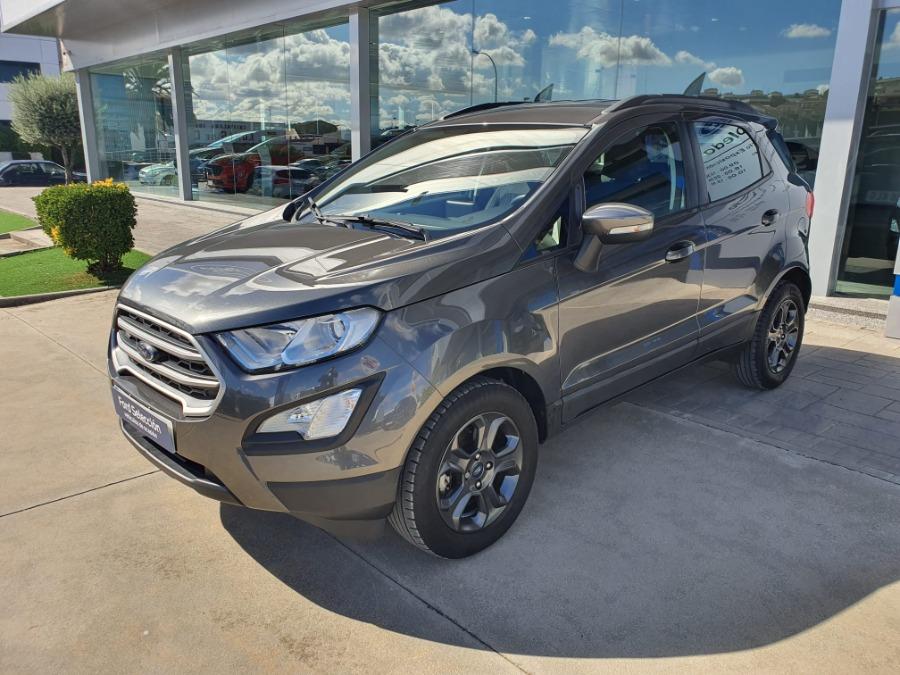FORD EcoSport Gris / Plata Gasolina Manual 4x4 SUV 5 puertas 2018