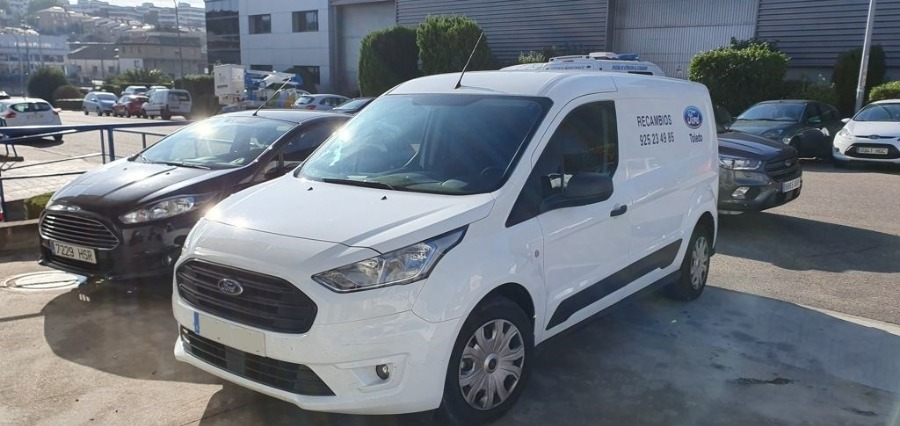 FORD Transit Connect Blanco Diesel Manual Industriales 4 puertas 2020