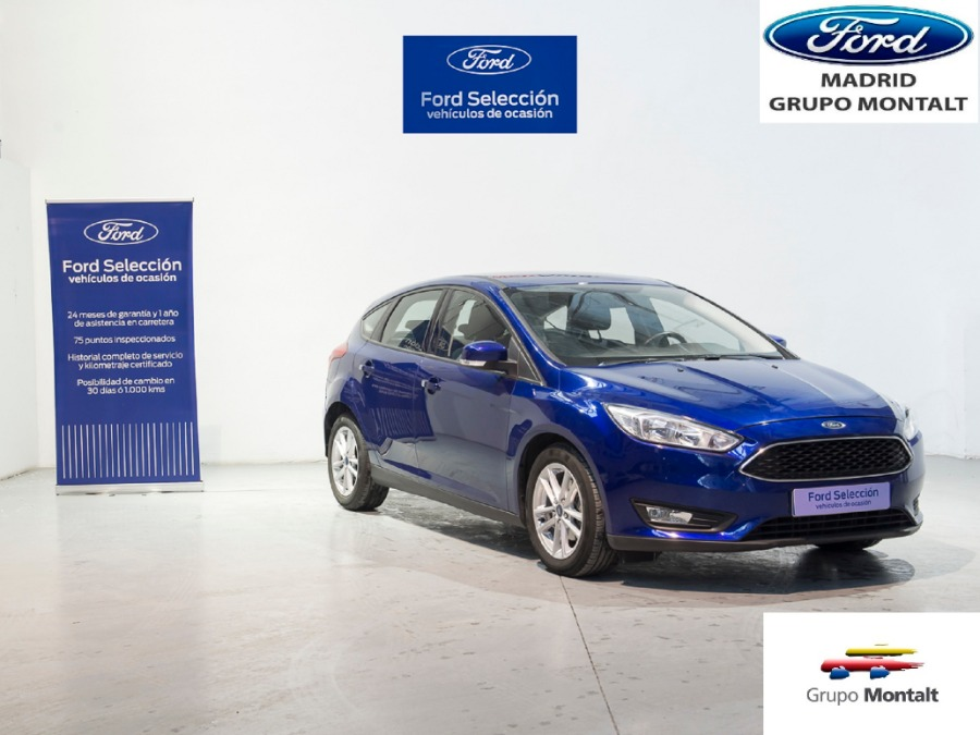 FORD Focus Azul Gasolina Manual Berlina 5 puertas 2018
