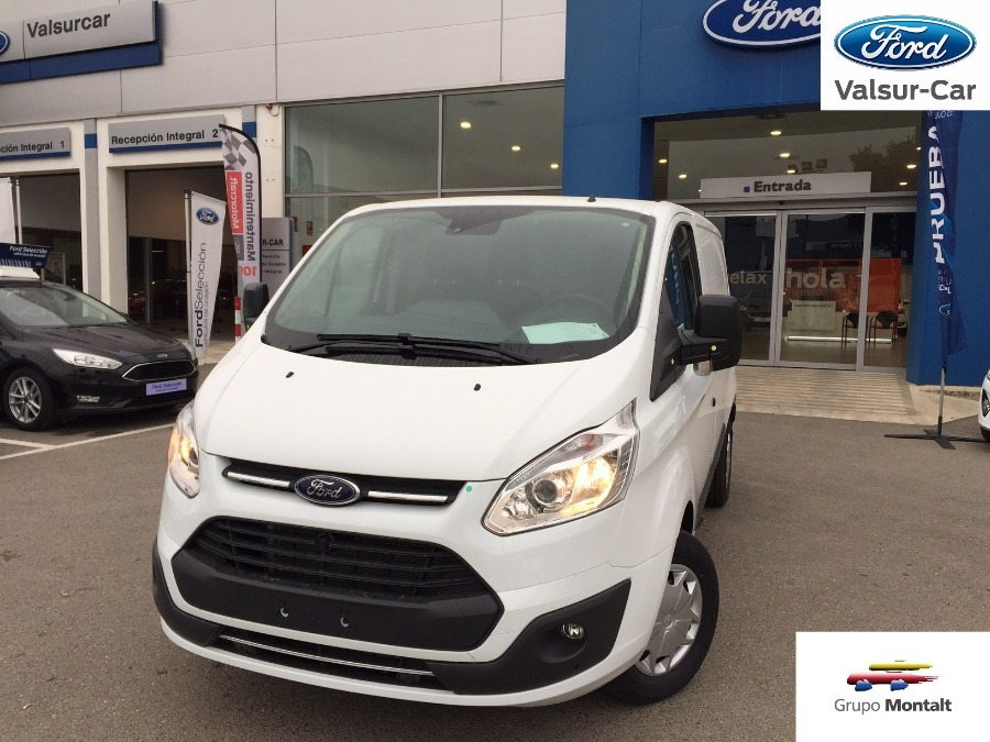 FORD Transit Custom Blanco Diesel Manual Industriales 4 puertas 2019
