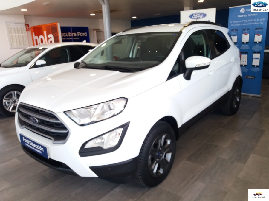 FORD EcoSport Blanco Gasolina Manual 4x4 SUV 5 puertas 2018