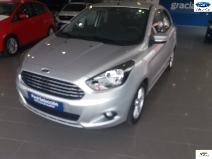 FORD Ka+ Gris / Plata Gasolina Manual Berlina 5 puertas 2017