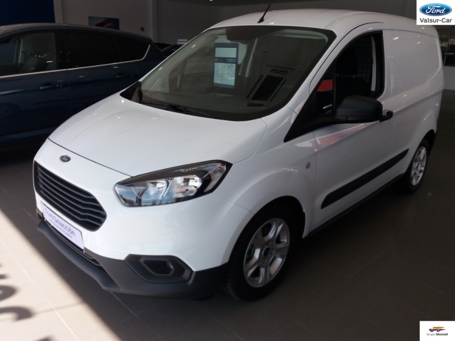 FORD Transit Courier Blanco Diesel Manual Industriales 4 puertas 2019