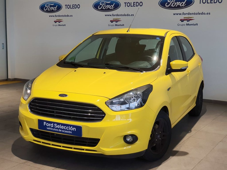 FORD Ka+ Amarillo Gasolina Manual Berlina 5 puertas 2018