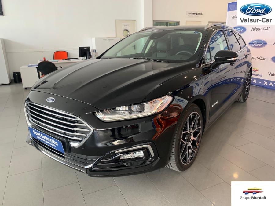 FORD Mondeo Negro Eléctrico / Híbrido Automático Familiar 5 puertas 2020
