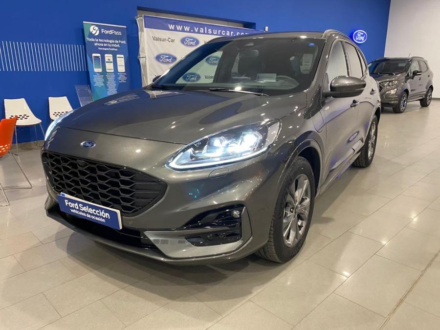 FORD Kuga Gris / Plata Eléctrico / Híbrido Automático 4x4 SUV 5 puertas 2020