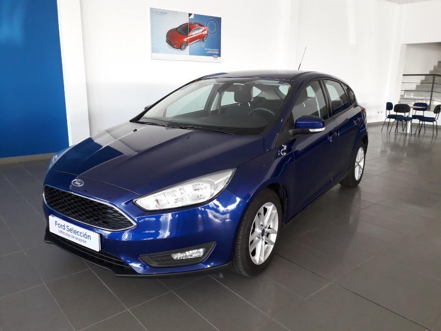 FORD Focus Azul Gasolina Automático Berlina 5 puertas 2018