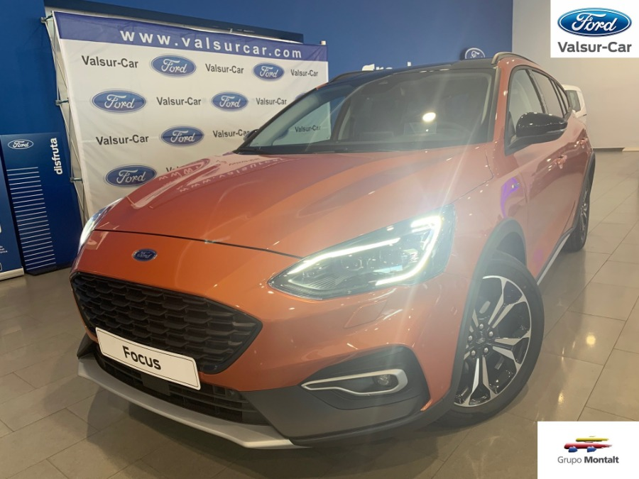 FORD Focus Naranja Gasolina Automático Familiar 5 puertas 2019