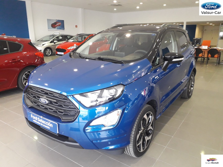 FORD EcoSport Azul Gasolina Manual 4x4 SUV 5 puertas 2019