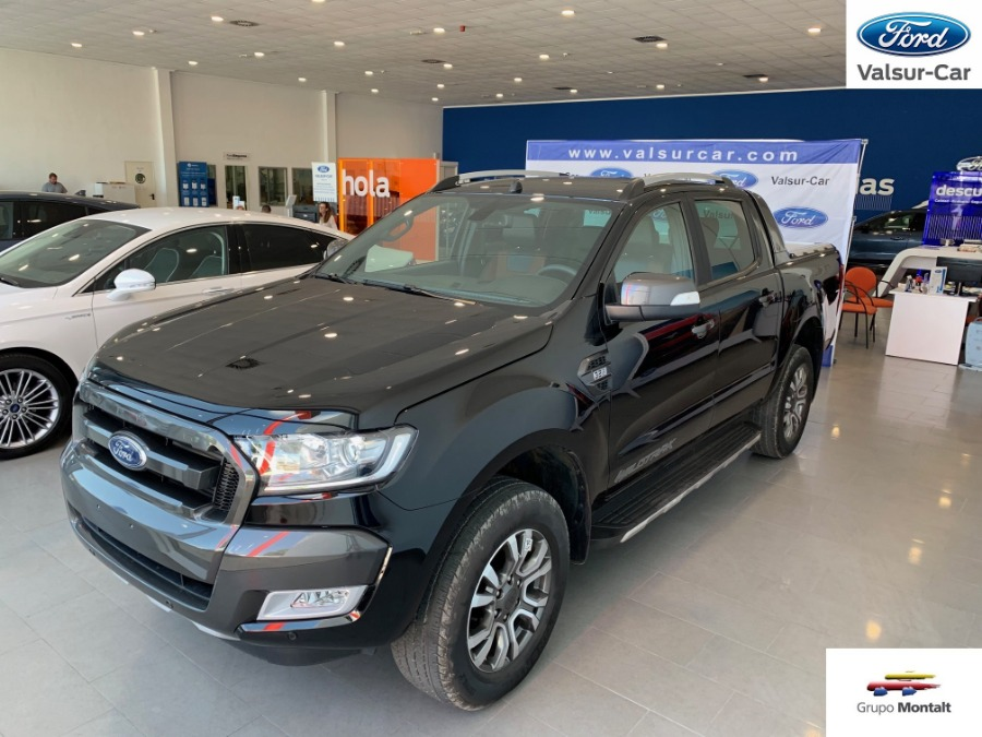 FORD Ranger Negro Diesel Automático Pick Up 4 puertas 2018
