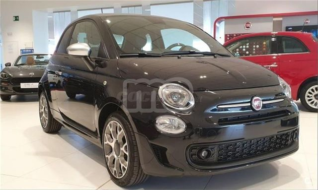 FIAT 500 Negro Gasolina Manual Berlina 3 puertas 2020