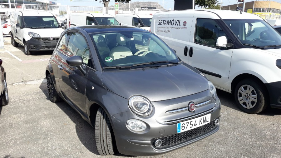 FIAT 500 Gris / Plata Gasolina Manual Berlina 3 puertas 2018